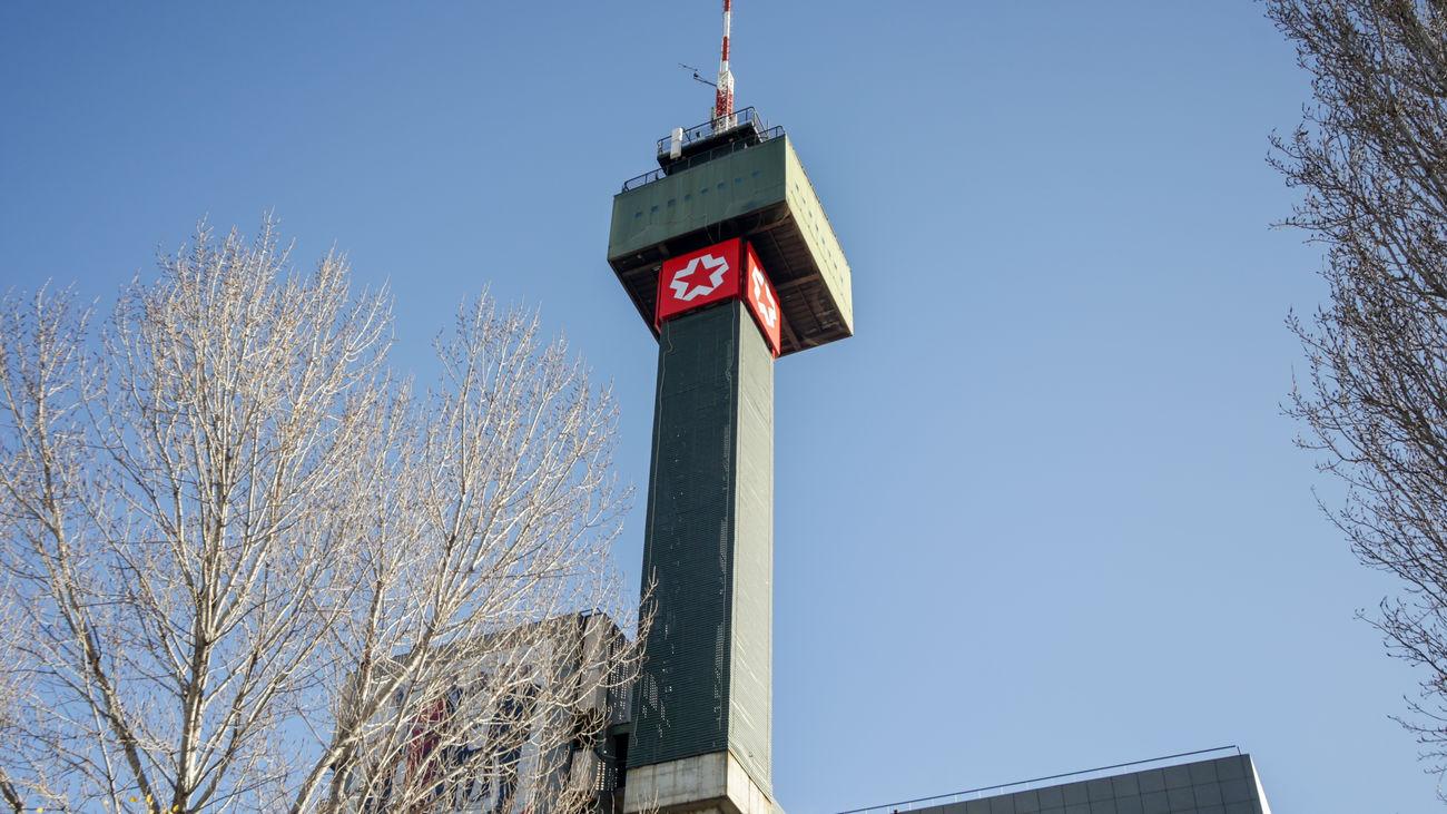 Torre de Telemadrid en Ciudad de la Imagen