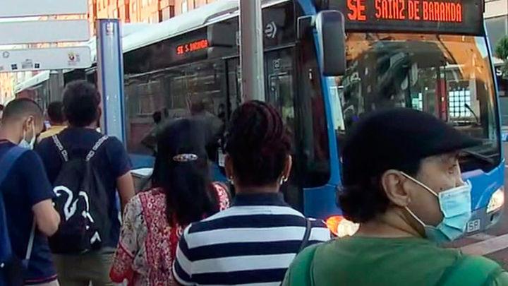 Madrid recupera el 75% de los usuarios de transporte público en toda la región