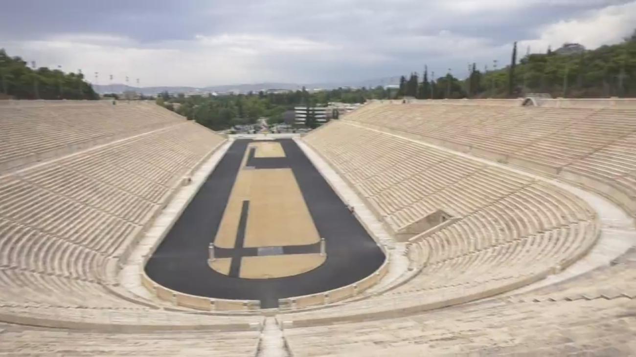 El estadio olímpico de Atenas acogió los primeros Juegos Olímpicos Modernos