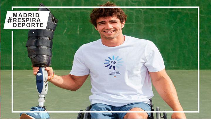 #ValeLaPierna,la peculiar iniciativa de Caverzaschipara impulsar el deporte paralímpico