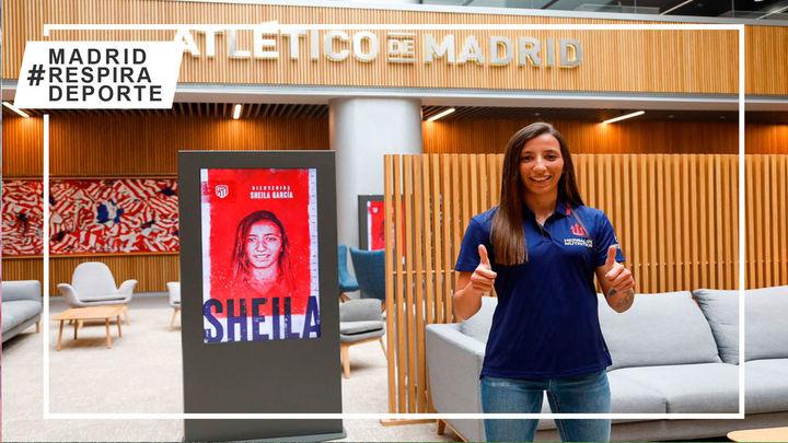 Sheila García, primer refuerzo del Atlético femenino