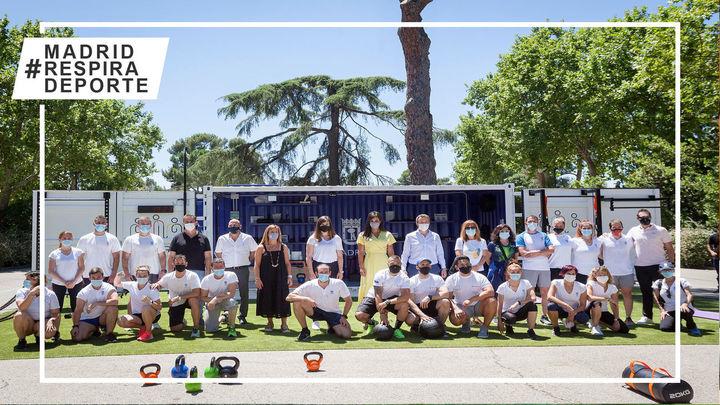 El deporte llega a los parques madrileños con Cubo Gym Madrid