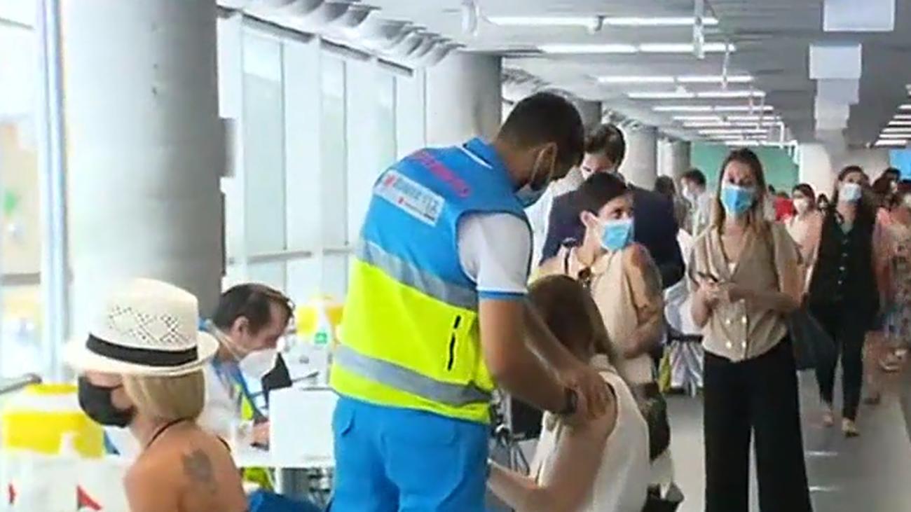 Vacunación este lunes en el Palacio de los Deportes de la Comunidad