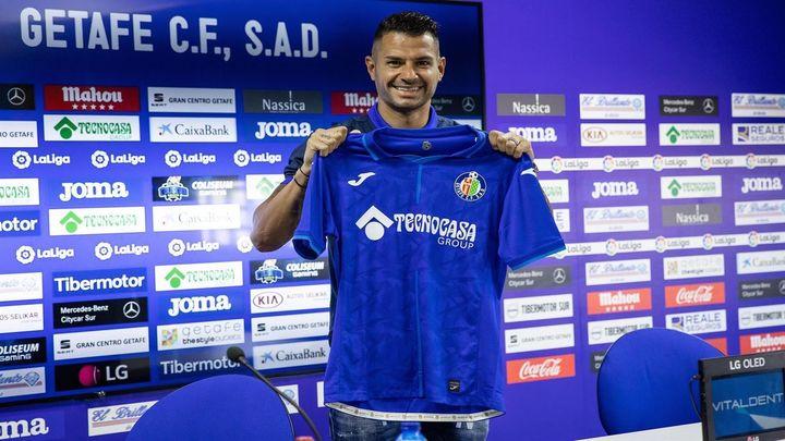 """Vitolo, cedido en el Getafe: """"Necesito confianza porque me queda fútbol y quiero demostrarlo"""""""