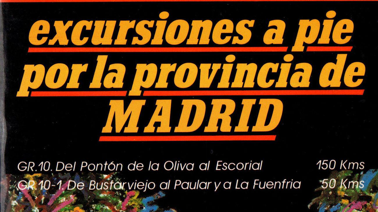 Portada del libro dedicado a la ruta que cruza la Comunidad de Madrid