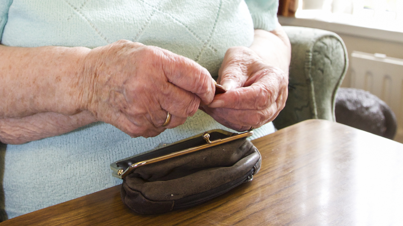 Una pensionista madrileña