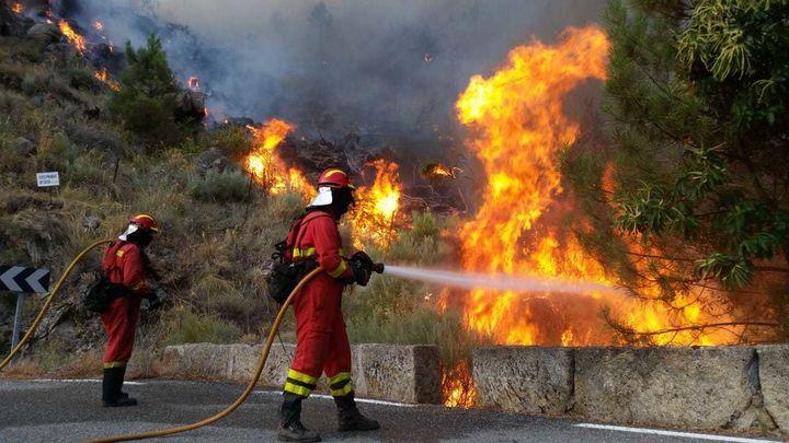 El sur de Madrid se encuentra ya en nivel extremo de incendios y está alto en el norte por el intenso calor