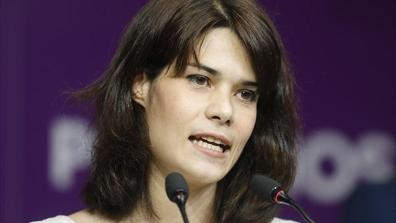 Isa Serra comparece para anunciar el recurso de su condena ante Europa