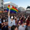 Manifestación en Sol por Samuel, el joven asesinado en A Coruña