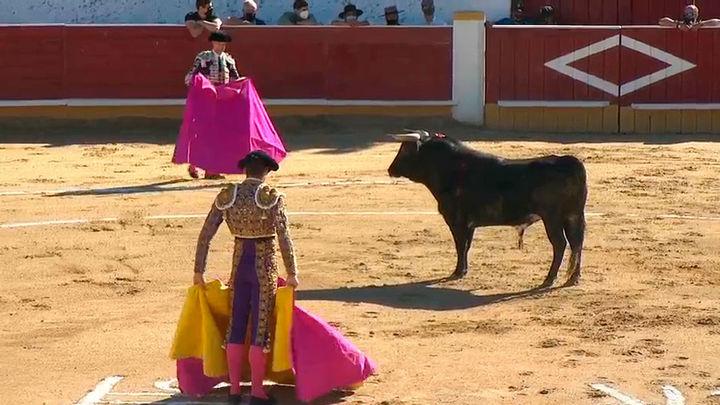 Isaac Fonseca, Jesús García y la ganadería de Monte la Ermita, triunfan en Cercedilla (2ª parte)