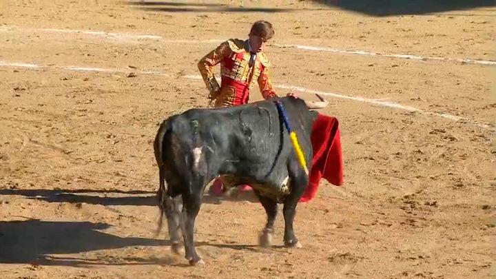 Isaac Fonseca, Jesús García y la ganadería de Monte la Ermita, triunfan en Cercedilla (1ªparte)