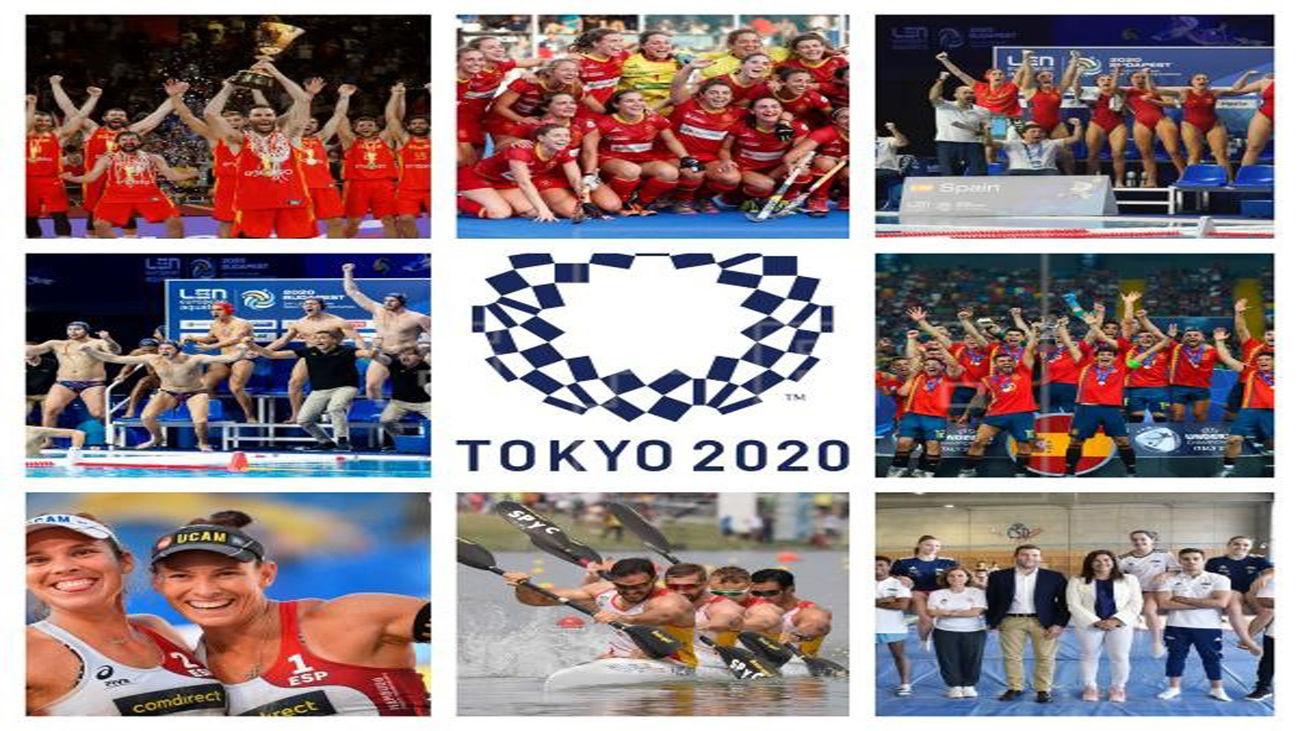 Españoles en Tokio 2022