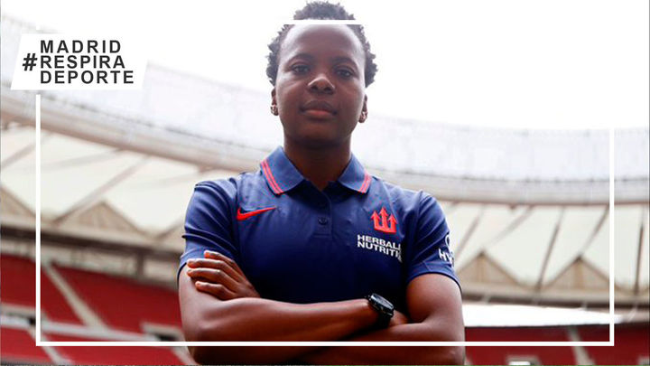 Thembi Kgatlana refuerza el ataque del Atlético de Madrid