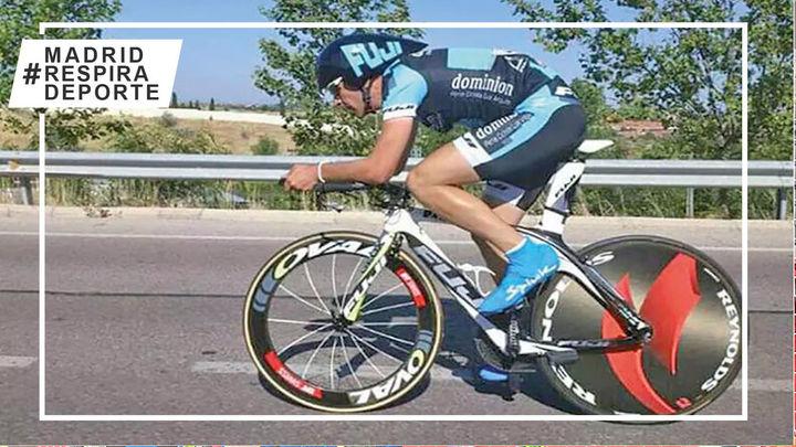El triatleta de Boadilla Tino Anguita se lanza a dos retos solidarios