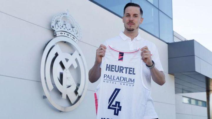 Thomas Heurtel, nuevo jugador del Real Madrid