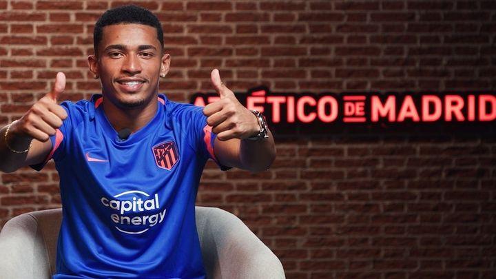 """Marcos Paulo: """"Aportaré al Atleti trabajo, muchas ganas, goles y regates"""""""