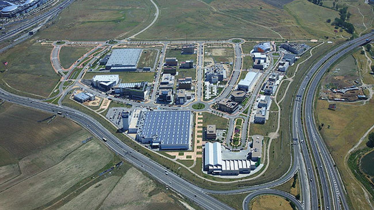 Vista aérea del polígono 'Los Gavilanes