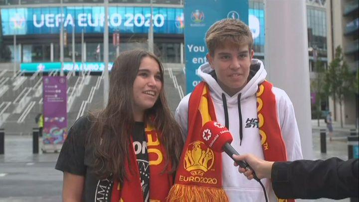 España no estará sola en Wembley