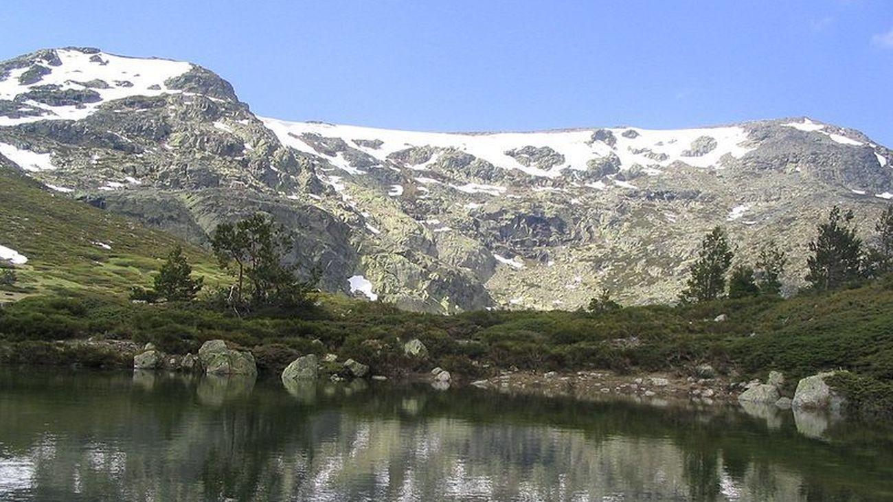 Cumbre y circo glacial de Peñalara, en el Parque Nacional de la Sierra de Guadarrama