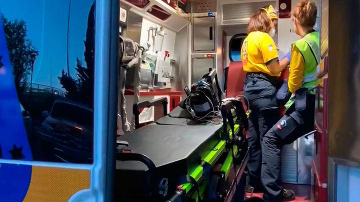 Un hombre herido al recibir un disparo en el hombro en San Blas
