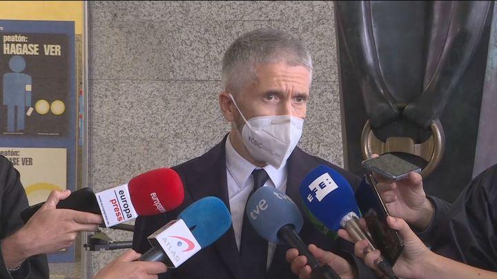 """Marlaska dice que """"todas las hipótesis están abiertas"""" en relación a la investigación del crimen de Samuel"""