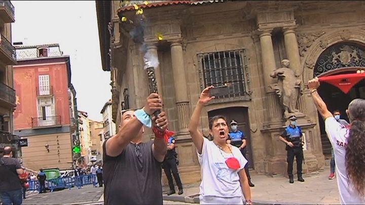 Pamplona se queda otra vez sin el chupinazo de Sanfermines por la pandemia del Covid