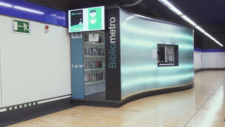 Blibliometro, el servicio de préstamo de libros de Metro de Madrid