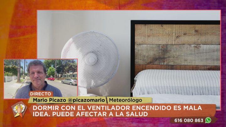 ¿Es bueno para la salud dormir con el ventilador encendido?