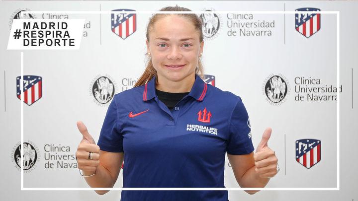 La argentina Estefanía Banini, nueva jugadora del Atlético femenino
