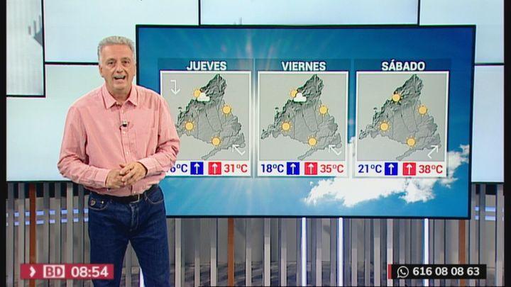Calor sofocante en Madrid para el fin de semana, con temperaturas cercanas a los 40º