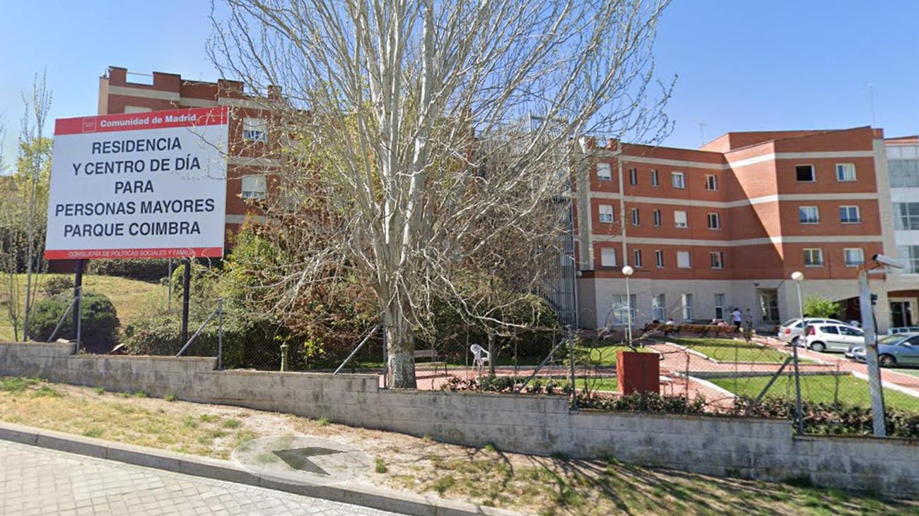 Residencia de Mayores de Parque Coímbra, en Móstoles
