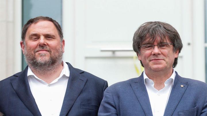 Puigdemont y Junqueras se ven las caras en Waterloo, casi 4 años después de la huida del expresidente catalán
