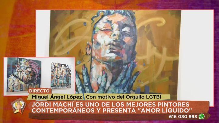 Jordi Machí, el pintor de Ryan Gosling y de otros famosos