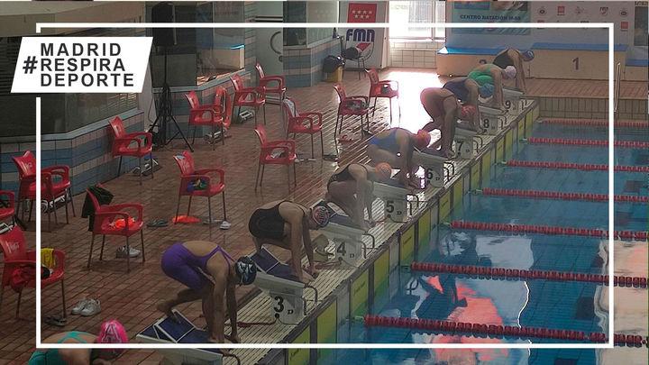 Gredos, campeón de Madrid Infantil de Verano de natación