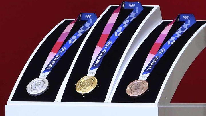 Medallas de metal reciclado para Tokio 2020