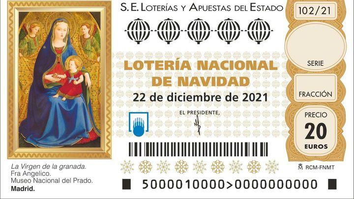 Ya puedes comprar Lotería de Navidad
