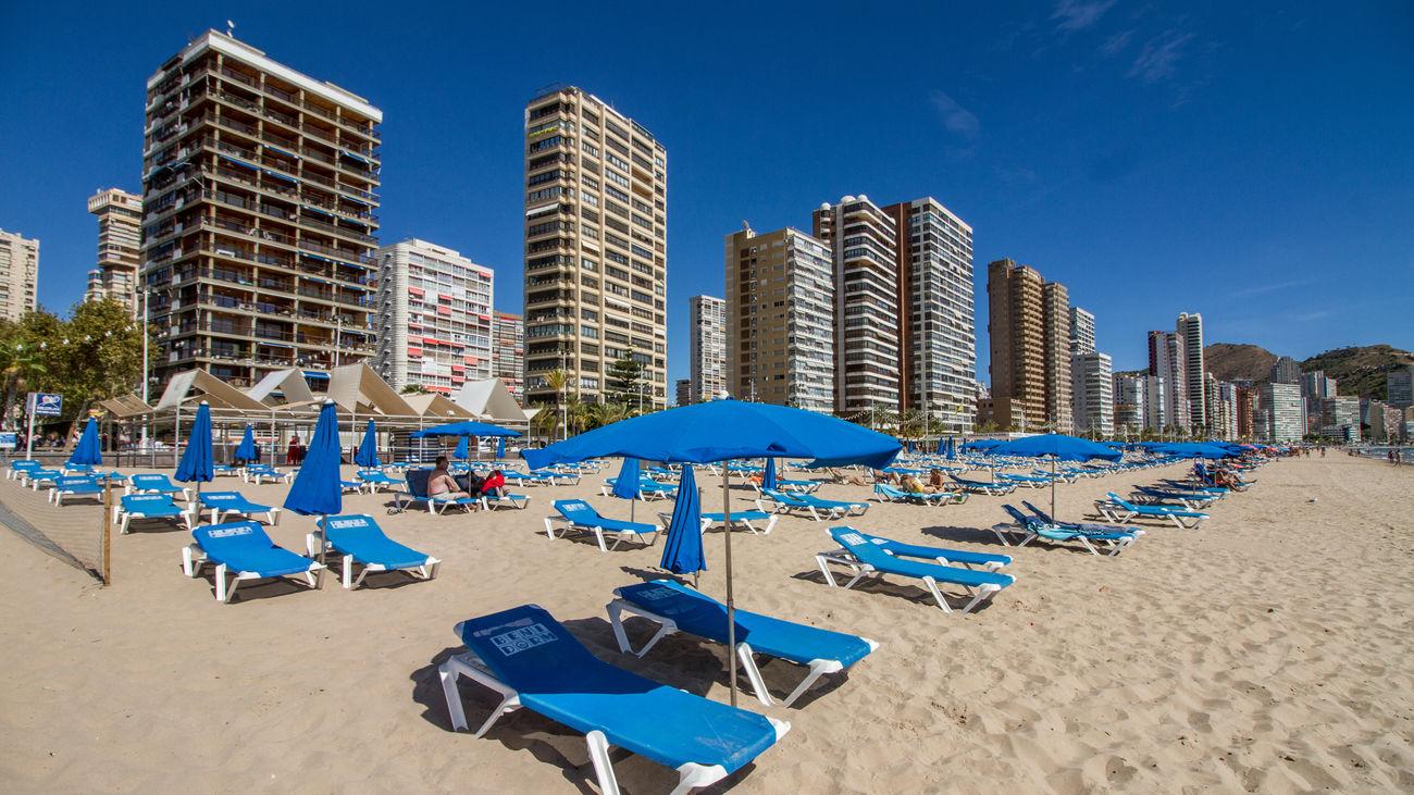 Playa de Levante de Benidorm