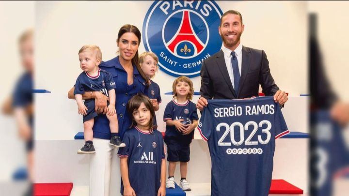 La nueva vida de Sergio Ramos y Pilar Rubio en París