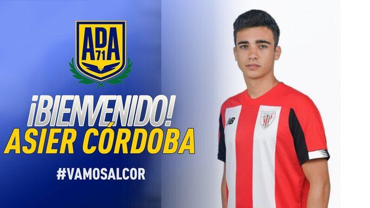 Asier Córdoba refuerza el ataque del Alcorcón