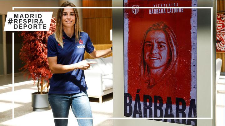 Bárbara Latorre suma verticalidad al Atlético de Madrid