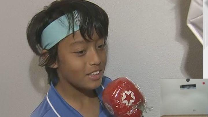 El niño de Madrid que sueña con ser Rafa Nadal, pero está a punto de  ser desahuciado