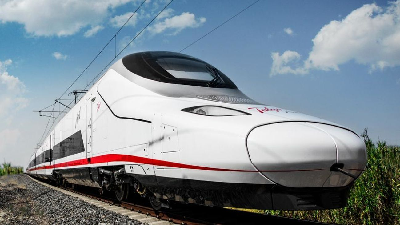 'Avril', tren de muy alta velocidad de Talgo