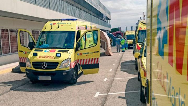 Un trabajador herido grave en Tres Cantos al golpearle un palé de 300 kilos