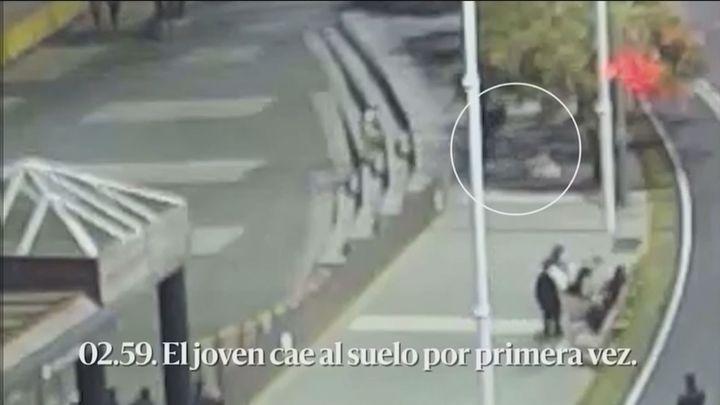 Las imágenes que muestran cómo fue el linchamiento multitudinario a Samuel en La Coruña