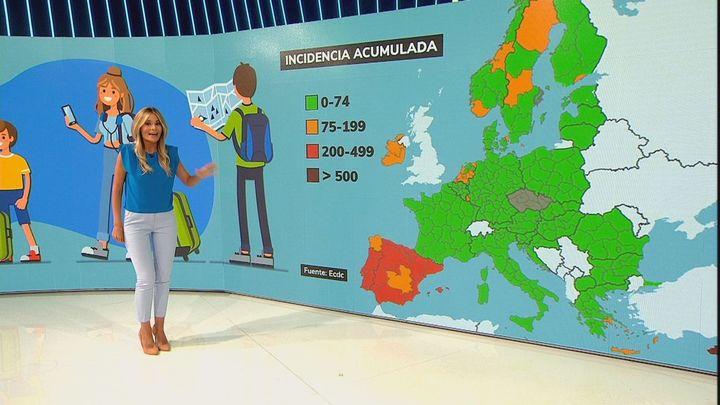 España aglutina 1 de cada 4 contagios dentro de la Unión Europea