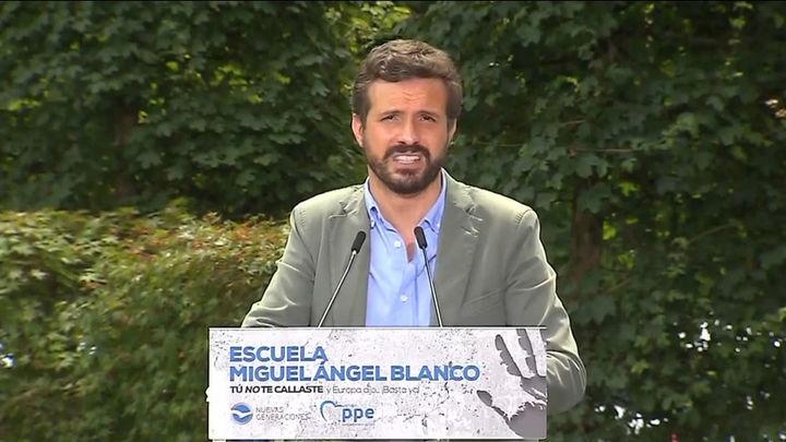 """Casado le pide a Sánchez que convoque elecciones tras tildar de """"carnicería"""" su cambio de Gobierno"""