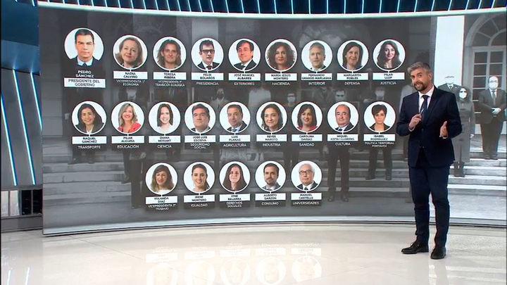 Los nuevos ministros de Sánchez toman posesión este lunes