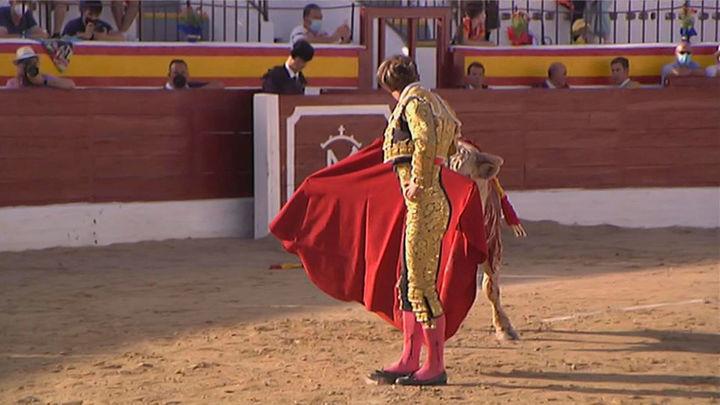 Jesús García corta dos orejas en la semifinal de Villarejo de Salvanés (2ª parte)