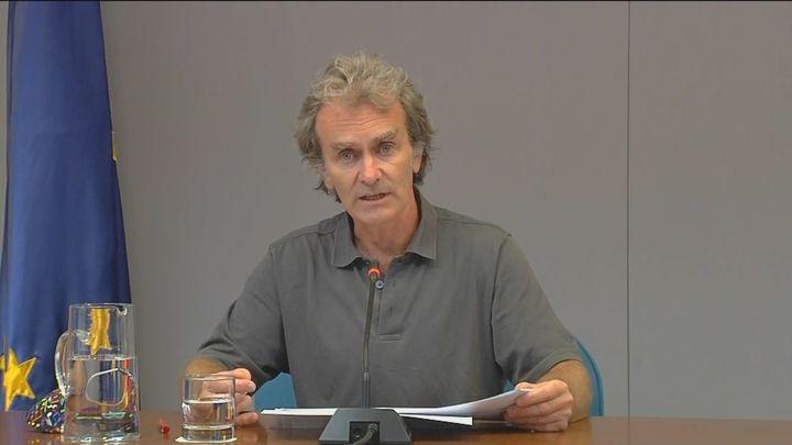 Simón asegura que en los próximos días se superarán los 400 casos por 100.000 habitantes