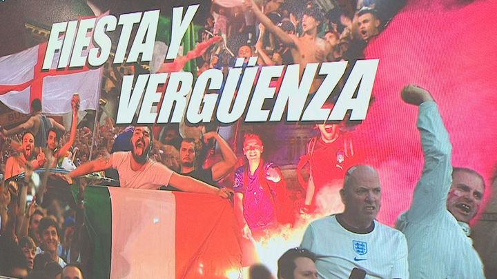 La cara amarga de la Eurocopa, fiesta en Italia y vergüenza en Inglaterra